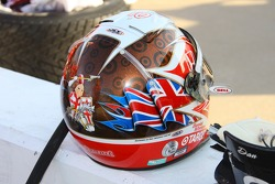 Helmet of Scott Dixon
