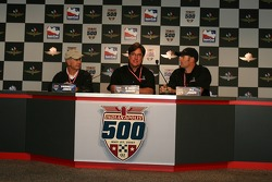 Press conference: Parnelli Jones, R. Kent Baker and P.J. Jones