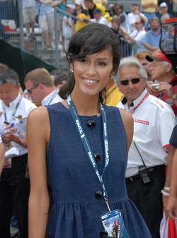 Jaslene Gonzalez, Top Modèle améraicain