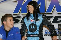 Press conference: Marco Andretti and Danica Patrick