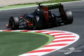 Nick Heidfeld, Lotus Renault F1 Team