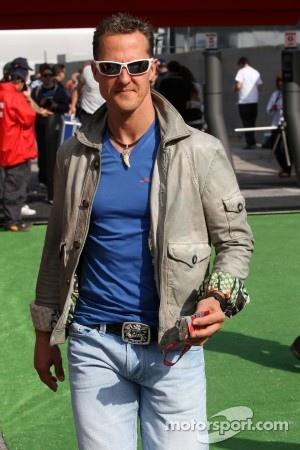 Schumacher's sponsors still support him