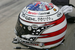 Helmet of Graham Rahal, Service Central Chip Ganassi Racing