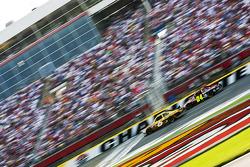 David Ragan, Roush Fenway Racing Ford and Jeff Gordon, Hendrick Motorsports Chevrolet