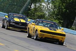 #5 TPN Racing/Blackforest Dodge Challenger: Ian James, Tom Nastasi