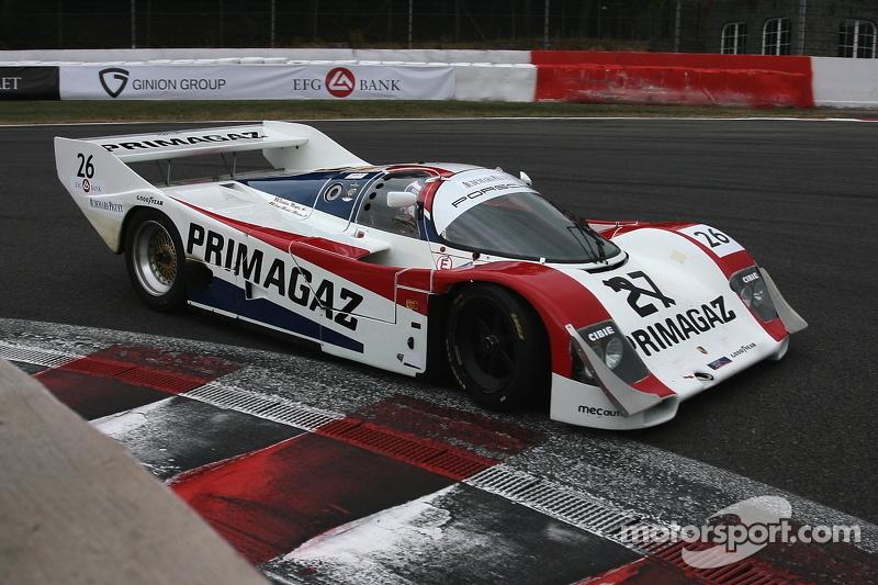 #26 Porsche 962C: Maxime Martin, Jean-Michel Martin