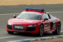 The Audi safety car