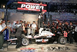 Will Power, Team Penske celebrates