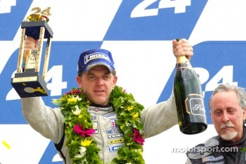 LM P2 podium: Scott Tucker