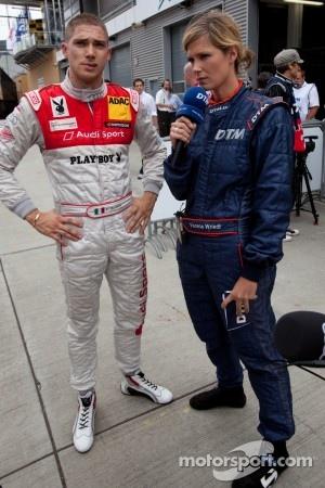 Rookie Edoardo Mortara took pole position at Munich Show Event