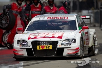 Timo Scheider won at the Norisring before