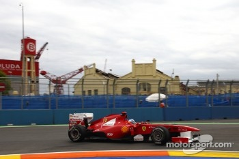 Just fourth place for Fernando Alonso today