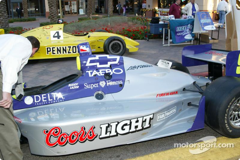 Hemelgarn Racing car at a press conference