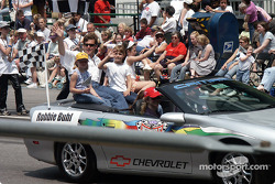 Drivers parade: Robbie Buhl