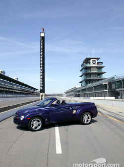 The Chevy SSR at Indy