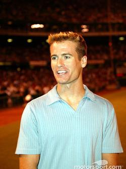 Visit at a St. Louis Cardinals baseball game: Alex Barron