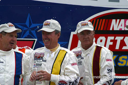 Johnny Rutherford and Bill Vukovich