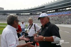 Al Unser Sr. and A.J. Foyt