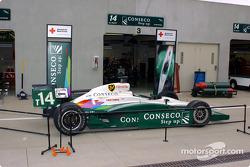 #14 A.J. Foyt Racing car on display