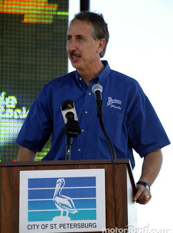 St. Petersburg Mayor Rick Baker