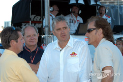 Scott Goodyear, Eddie Cheever and Arie Luyendyk