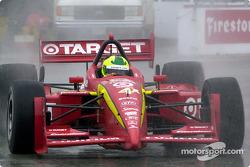 Bruno Junqueira in Saturday rain