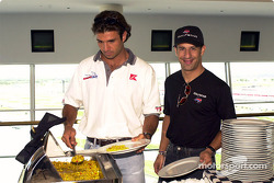 Christian Fittipaldi and Tony Kanaan