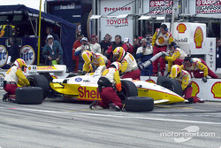 Pitstop for Kenny Brack
