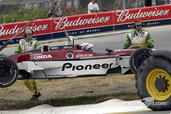 Alex Zanardi in trouble
