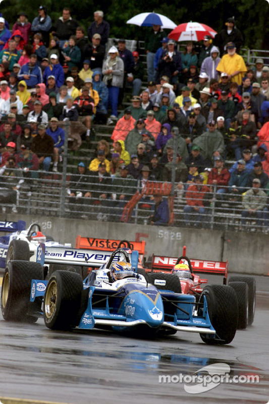 Patrick Carpentier and Mauricio Gugelmin