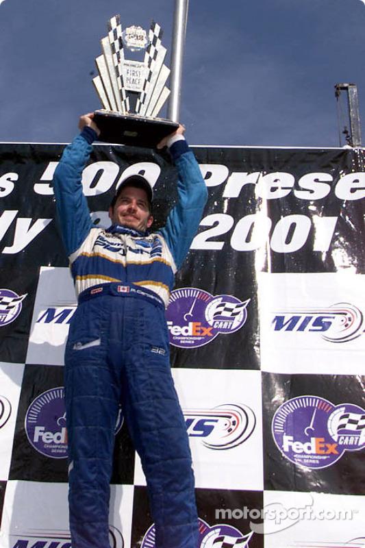 Race winner Patrick Carpentier