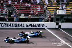 Checkered flag for Patrick Carpentier