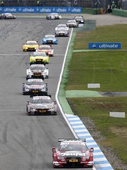 Miguel Molina, Audi Sport Team Abt Sportsline, Audi RS 5 DTM leads