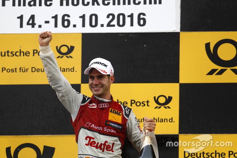 Podio: ganador de la carrera  Miguel Molina, Audi Sport Team Abt Sportsline, Audi RS 5 DTM