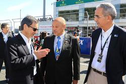Pierre Fillon, President Automobile Club De l'Ouest, Yojiro Terada, Ambassador ACO