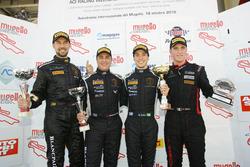 Vincitori Campionati 2016: Luca Demarchi e Ivan Benvenuti, Imperiale Racing, Nicolas Costa, Vincenzo Sospiri Racing, Riccardo Pera, Ebimotors