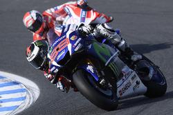 Хорхе Лоренсо, Yamaha Factory Racing, Андреа Довициозо, Ducati Team