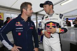 Sébastien Loeb, Team Peugeot Hansen y Mattias Ekström, EKS RX