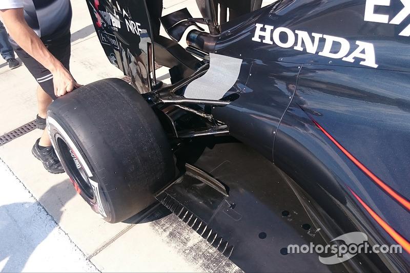McLaren MP4-31, diffuser