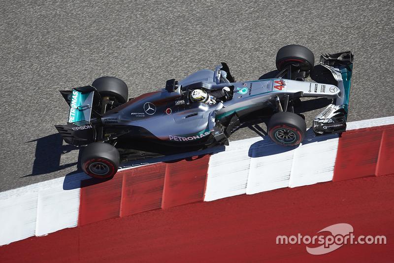 Гран Прі США 2016, Mercedes F1 W07 Hybrid