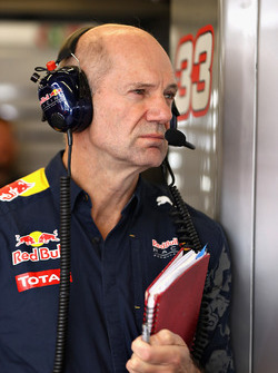 Adrian Newey, directeur technique de Red Bull Racing