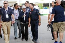 (Зліва направо): Берні Екклстоун, та Крістіан Хорнер, керівник Red Bull Racing Team