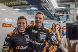 #38 G-Drive Racing, Gibson 015S-Nissan: Simon Dolan, Giedo van der Garde