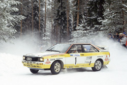 Стиг Бломквист и Бьорн Седербрег, Audi Quattro A2