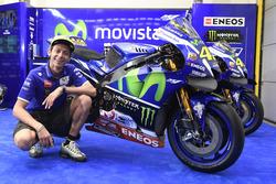 Design von Valentino Rossi, Movistar Yamaha MotoGP, für das Rennen in Malaysia