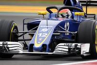 Felipe Nasr, Sauber C35 con la cubierta de la cabina de Halo