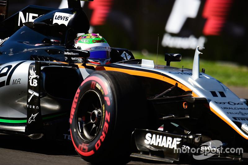 12. Серхио Перес, Sahara Force India F1 VJM09