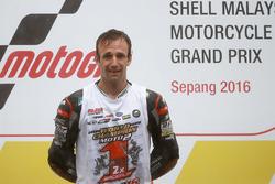 Podium: Ganador, Johann Zarco, Ajo Motorsport