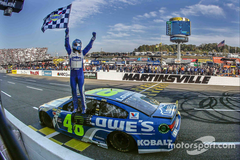 Martinsville: Jimmie Johnson (Hendrick-Chevrolet)