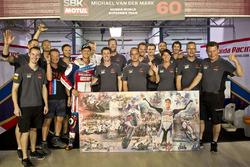 Michael van der Mark, Honda World Superbike Team met het team